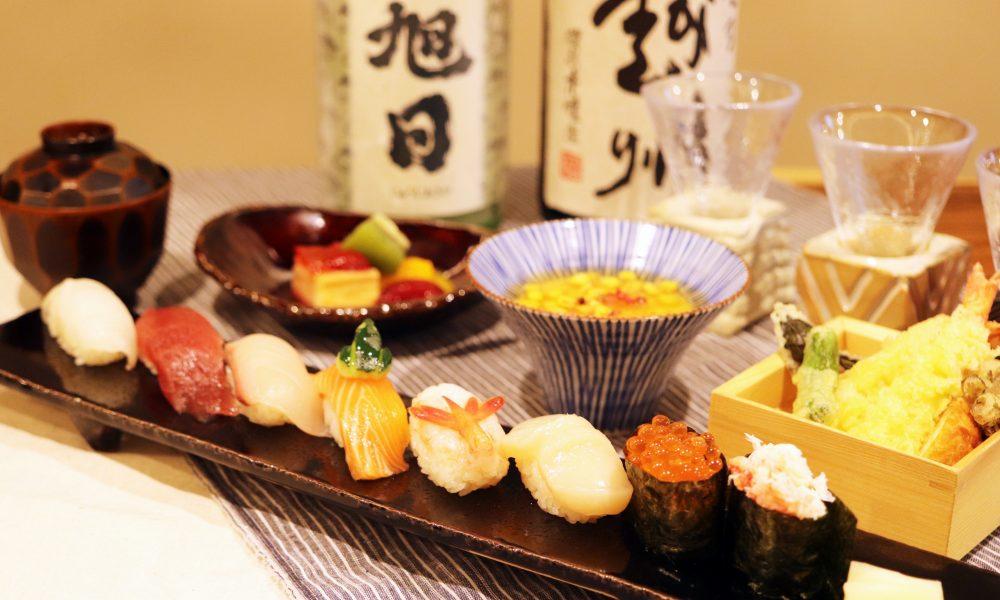 昼のとったりに新たに【寿司コース】が登場しました!